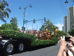 Another element of the 2012 Kamehameha parade.