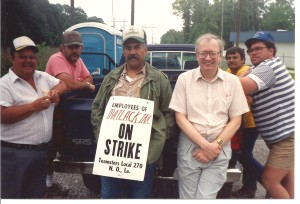 Ascension Parish Strike Scene